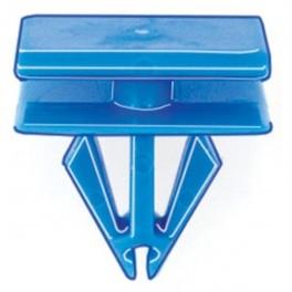 Blue Nylon Rocker Panel Molding Retainer, GM 25742293, 10/pk, E049